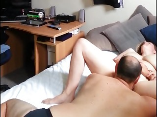 pussy make mincemeat of and some fat dick fucking