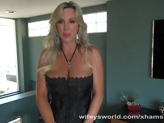 Wifey Deep Throats Big Load of shit Plus Swallows Cum