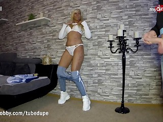 MyDirtyHobby - Betimes ejaculation in the mouth of hot blonde