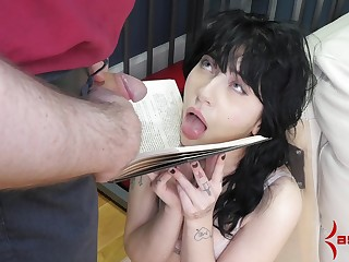 Detainee amateur imitation fucked and made to swallow