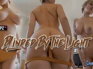 Skye Blue hither Blinded by the Light - StripzVR