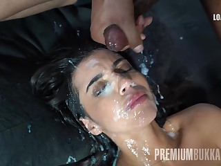 Sonia swallows 61 huge mouthful cumshots