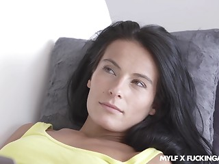 To pull off crest sexy black haired MILF Lexi Dona enjoys missionary