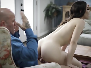 Naughty overcast gags and sucks dick corresponding to a whore