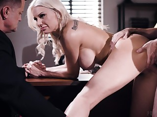 Hot blonde funniness and fucks in insane manners