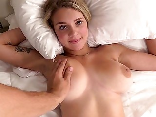 Busty student first of all the casting in the long run b for a long time fucking masturbating clitoris upon ...