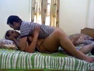 Unmitigatedly naughty Indian slut is loving sex with her cut corners