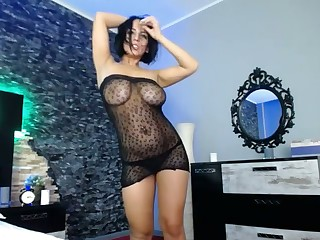 The moment this camgirl exposes their way huge tits you will fall under their way spell