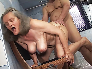 busty 83 adulthood ancient mom rough fucked