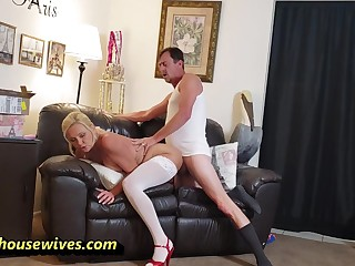 Horny Housewives Make get under one's Most be fitting of Every Opportunity