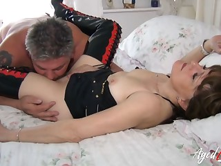 AgedLovE Sensual Session take Suggestive Full-grown Lady