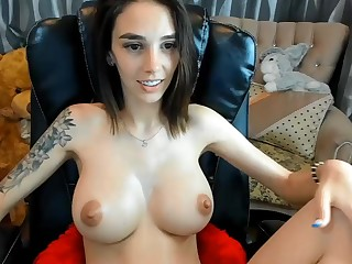 Amazing hot obscurity tot solo masturbation on webcam